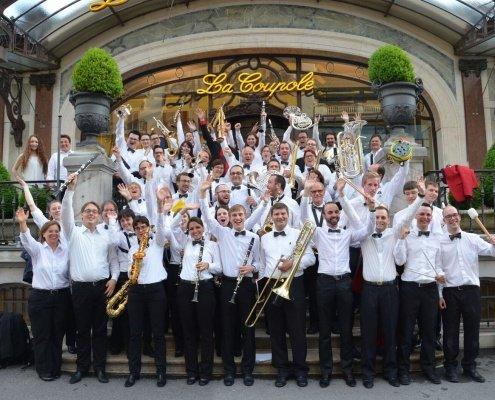 Blasorchester des Aargauer Musikvereins der Stadtmusik Bremgarten